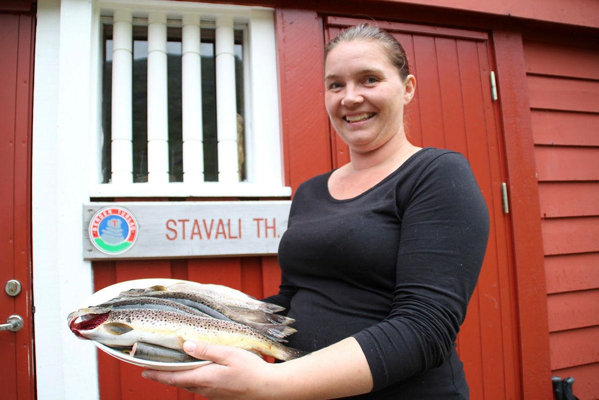 Torill Opedal Hauge er ei engasjert hyttevert som saman med mannen Kjetil Hauge har ei sterk tilknyting til staden.