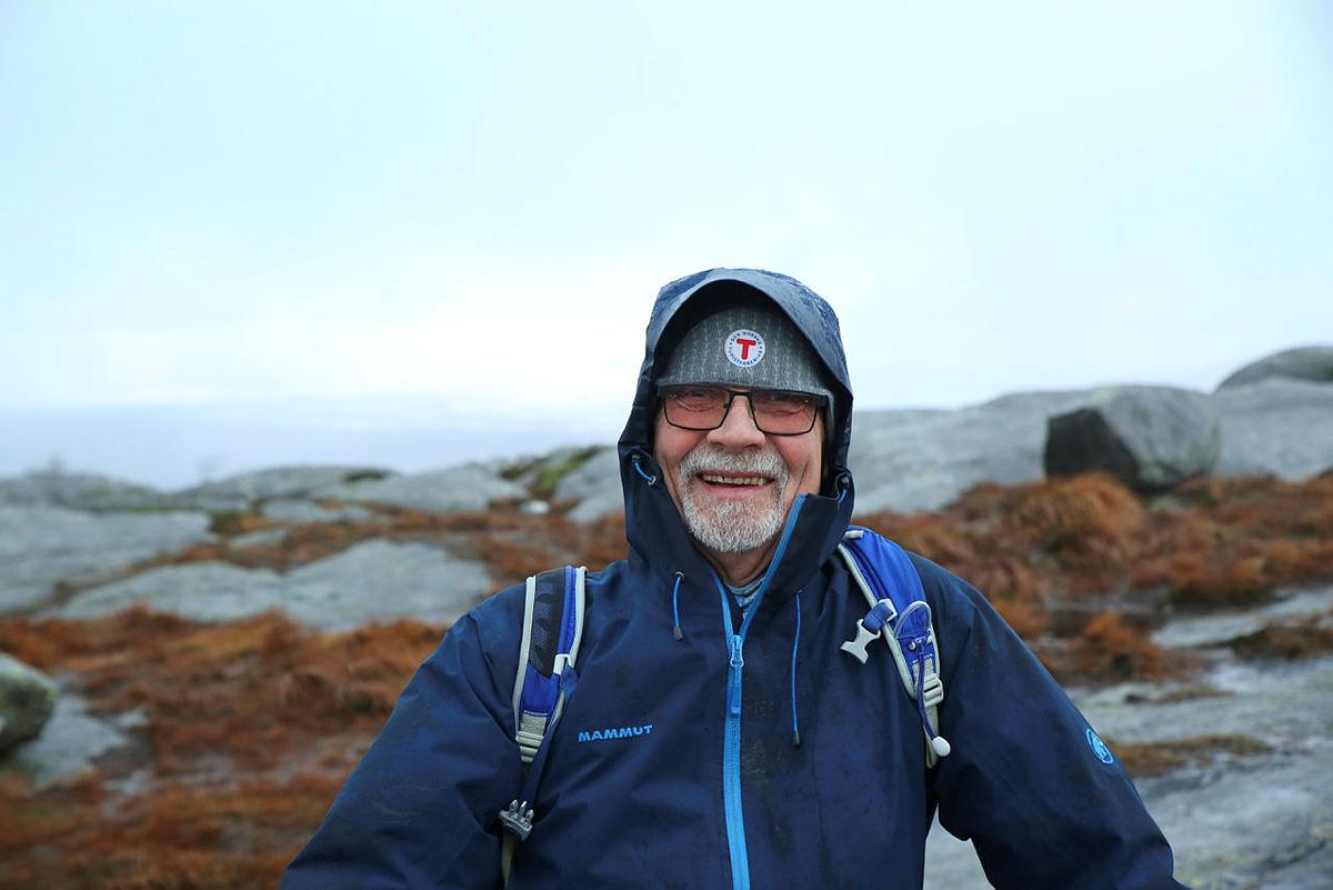 Turleder Kjell Fossum.