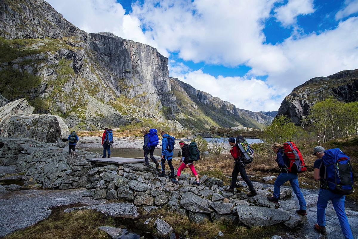 Opnar historisk vandrerute gjennom Viglesdalen