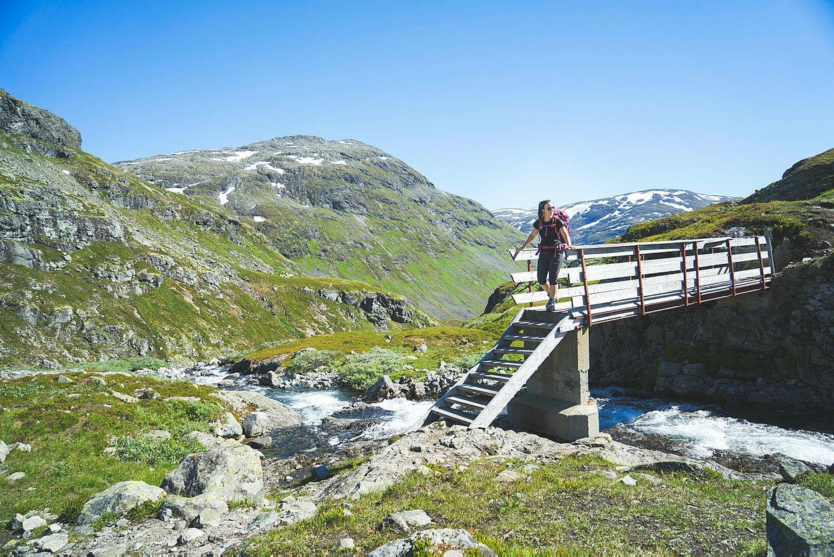 Fottur fra Sognefjellshytta til Skogadalsbøen i Utladalen i Jotunheimen.