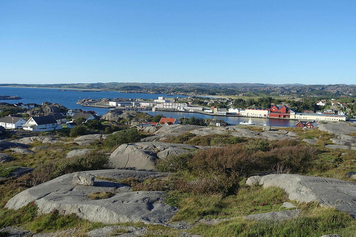Utsikt mot Sirevåg