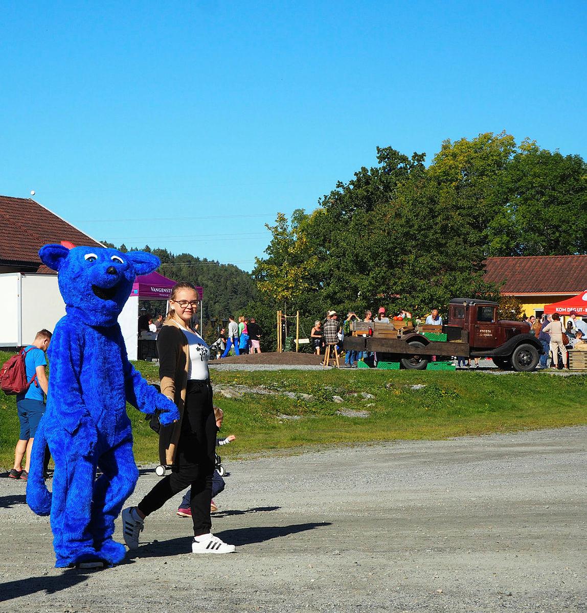 Turbo kom også på besøk til Breivoll.