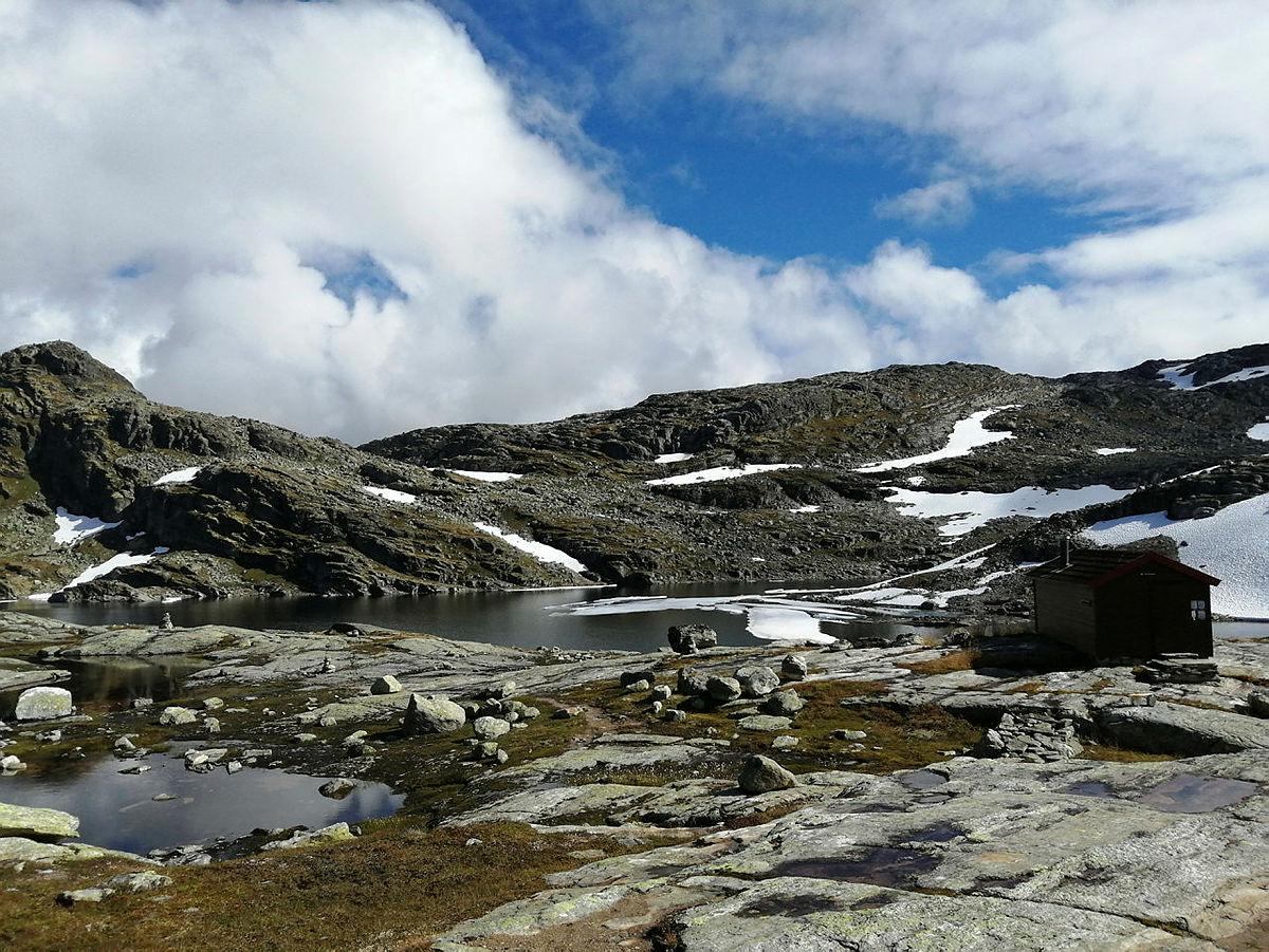 Litt is att på Kaldavatnet