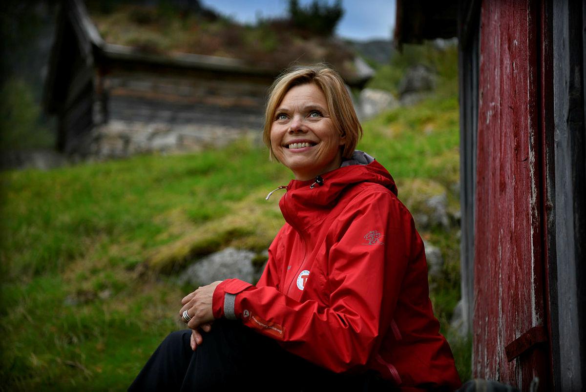 Styreleder i Stavanger Turistforening, Gunhild Holtet Eie.