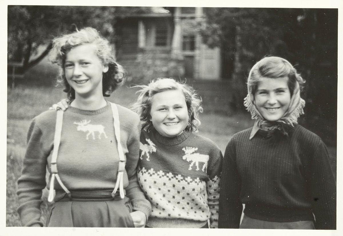turjenter på 1950-tallet