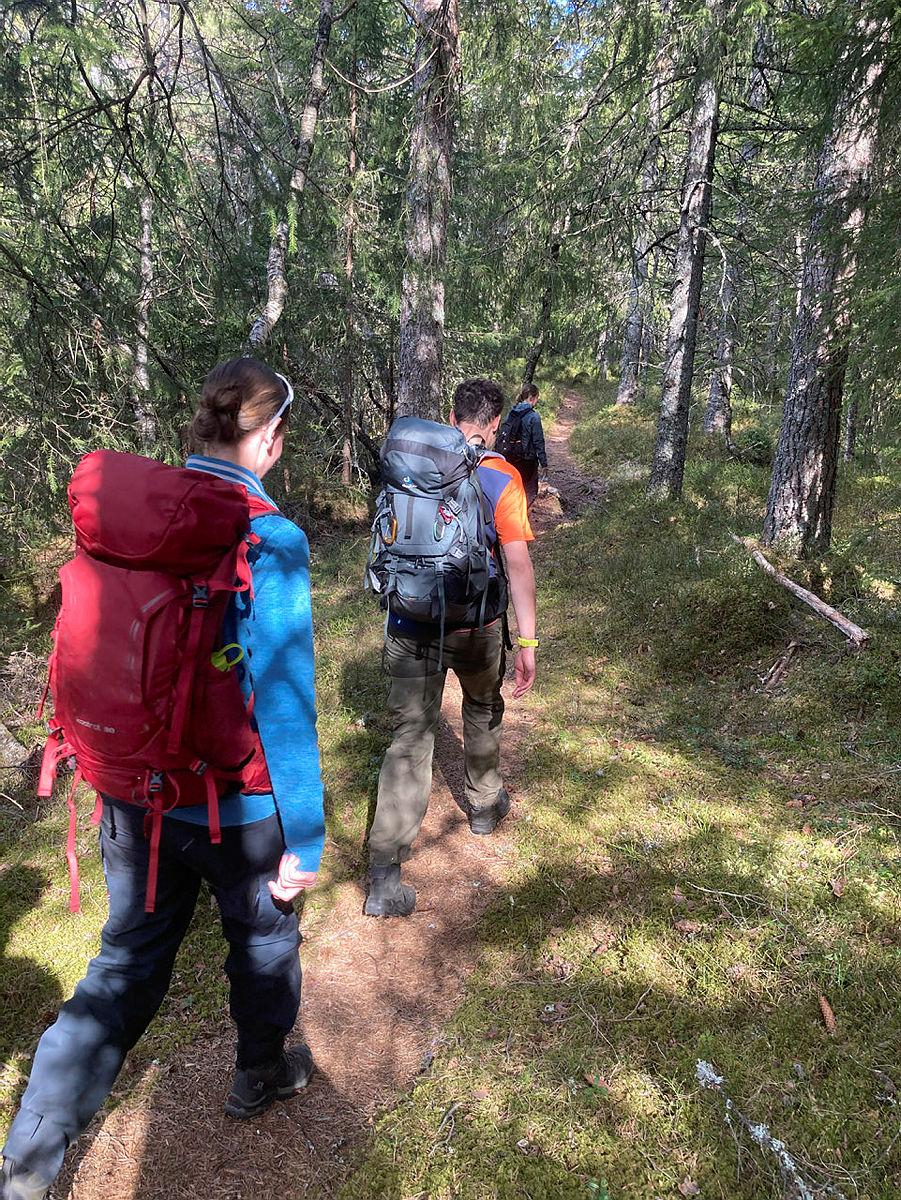 Turlederkurs i Valle mai 2021. dag en nede i dalen dag to på fjellet i nærheten av bjørnevasshytta