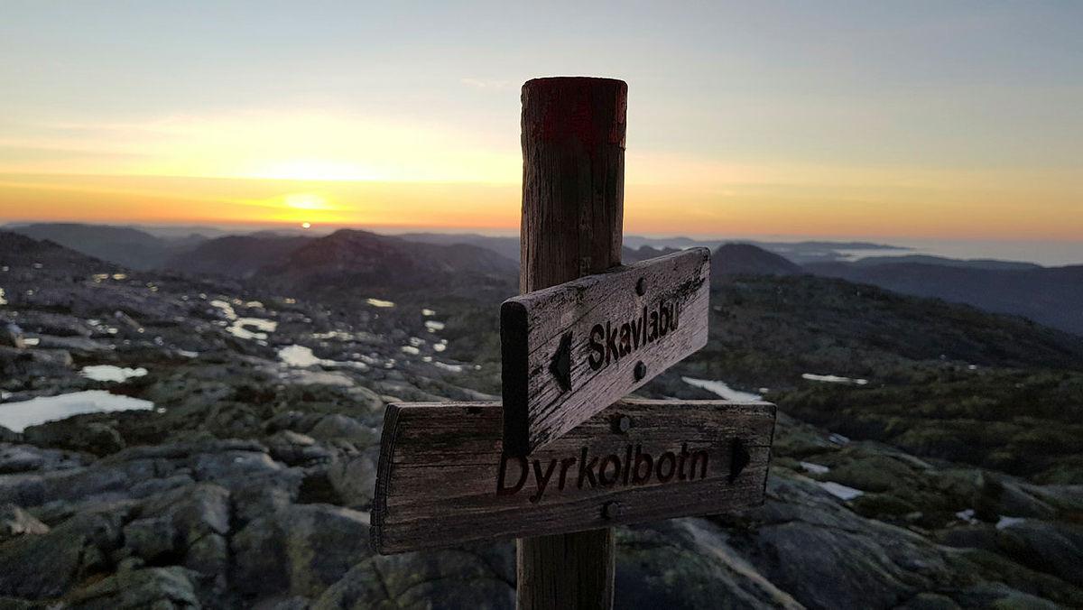 Høstens turer med DNT fjellsport Bergen