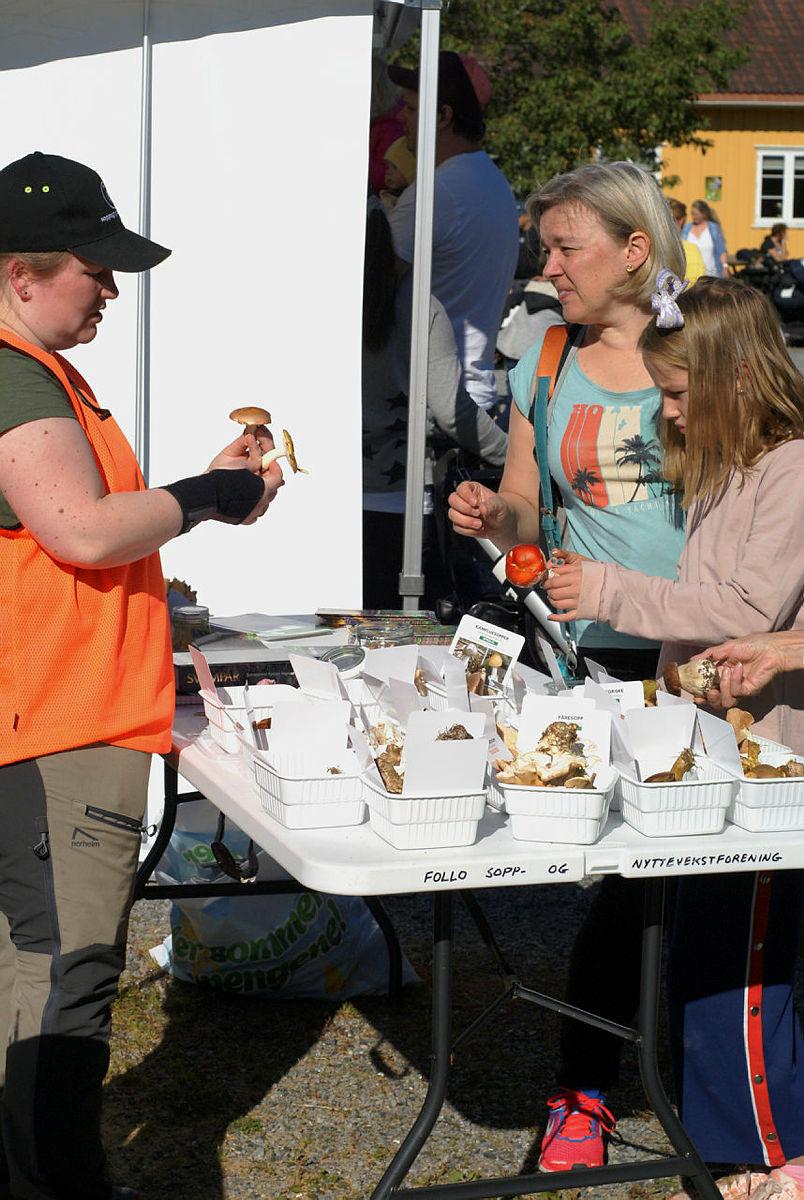21. september ble det arrangert lokalmatdag på Breivoll.