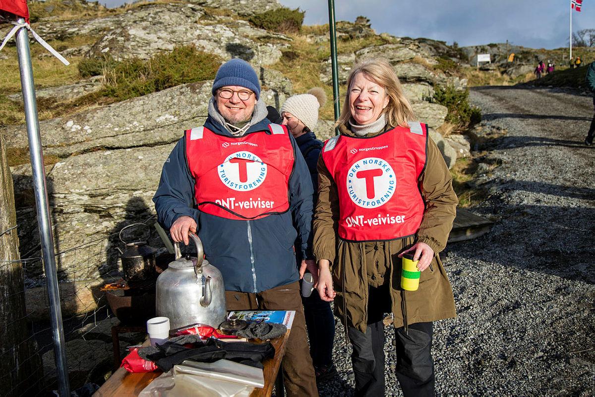 Hvert år sørger våre frivillige for at vi kan arrangere over 1000 turer og aktiviteter.