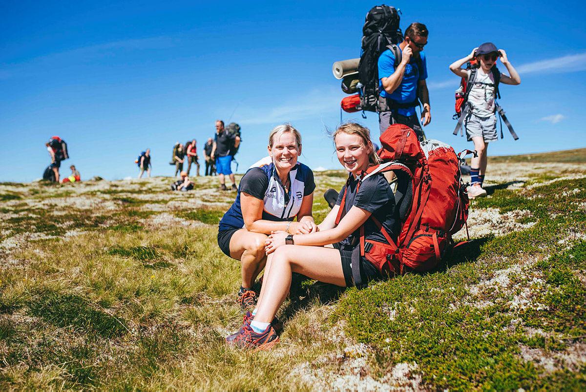 Monsen minutt for minutt startet på Hardangervidda, med nærmere 400 som skulle være med å gå.