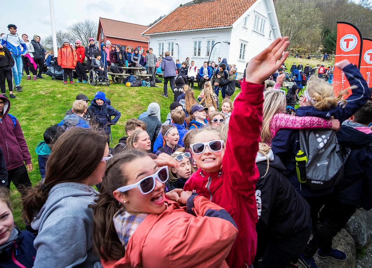 OPPTUR på Gramstad i Sandnes med Stavanger Turistforening og DNT ung Stavanger i fjor.