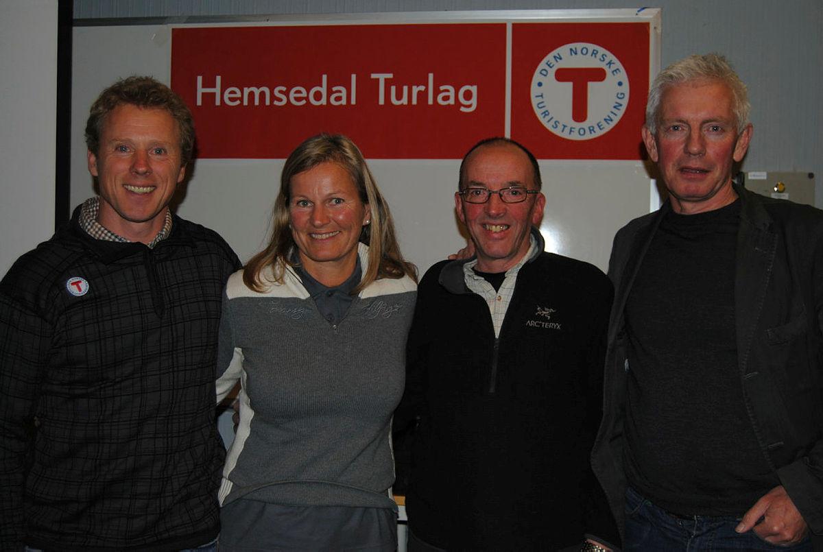 Stiftelsesmøte i Hemsedal Turlag 1.12.2010.