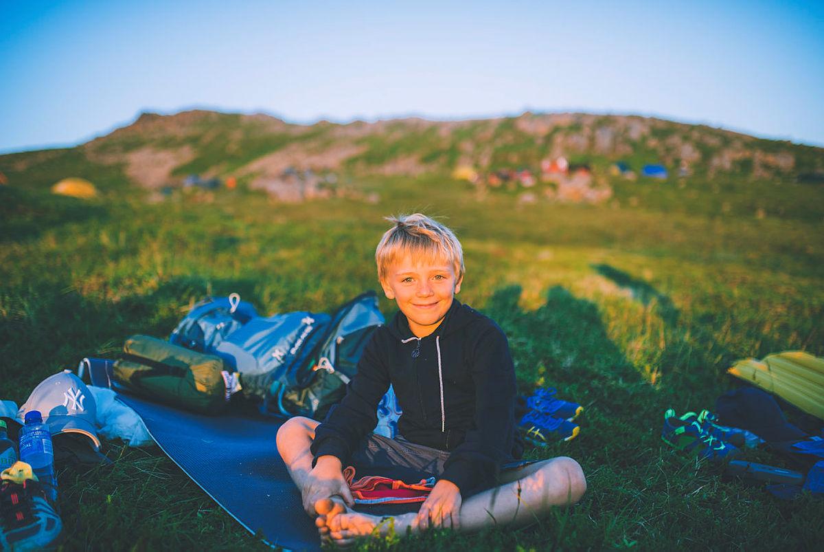 Bli med å sove ute med DNT Bærum Turlag i sommer