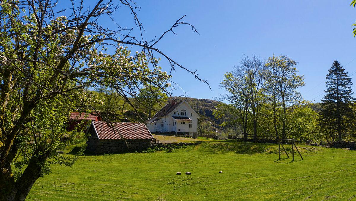 Sommerparadiset på Gaudland er en annen utleiehytte, som passer perfekt til flere familier på tur sammen.