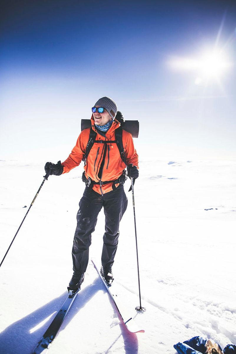 Skitur på Hardangervidda