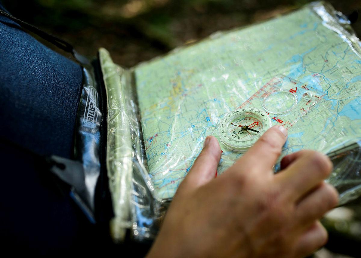 Lær deg kart og kompass på en kveld