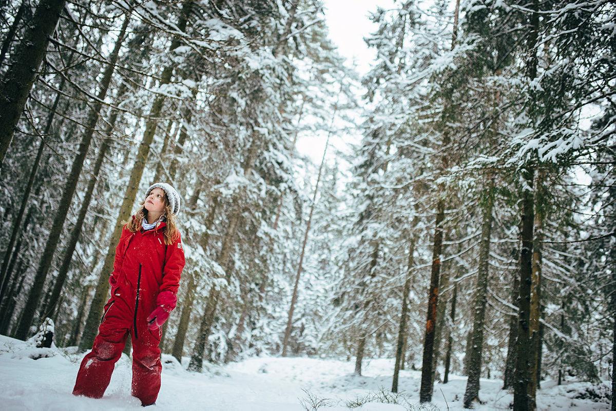Tur til Dølerud i januar 2016. Familien Bagle Tennebø