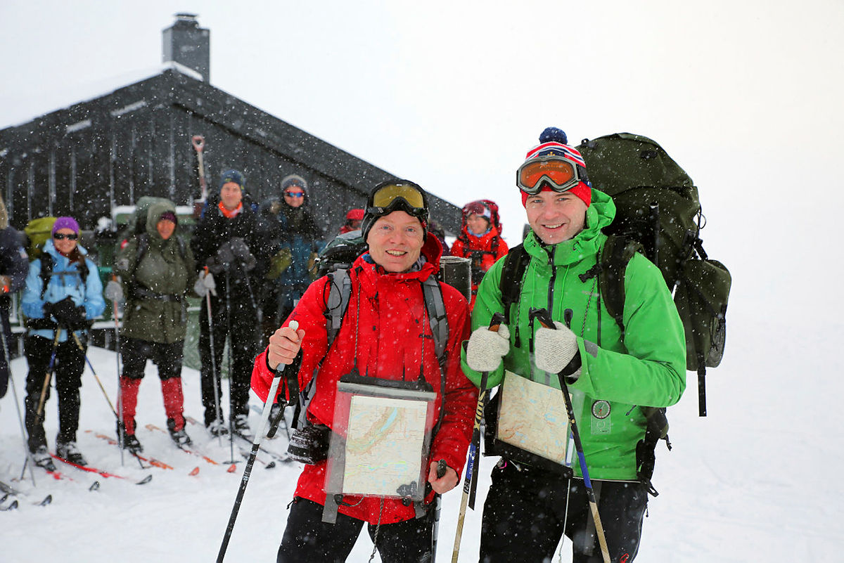På ski i verdensarven: Ljosanbotn–Grindaflethytta