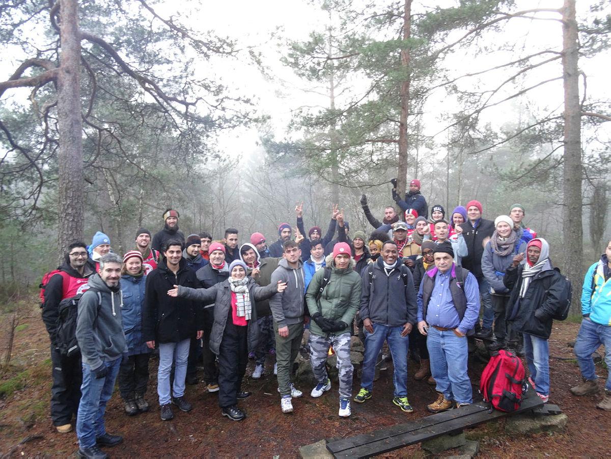 Avsluttningstur med Natur på Norsk