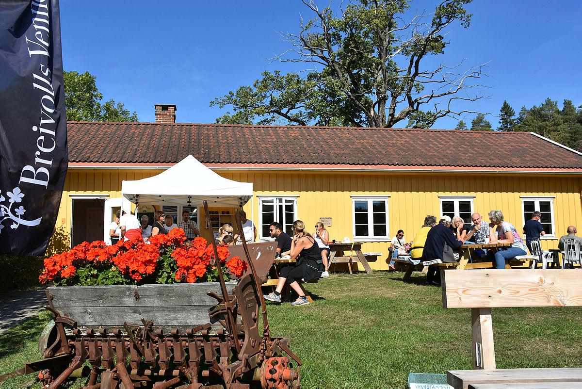 Søndag 1.9. ønsker vi alle velkommen til Kom Deg Ut-dag på Breivoll Gård. Her fra 2018.