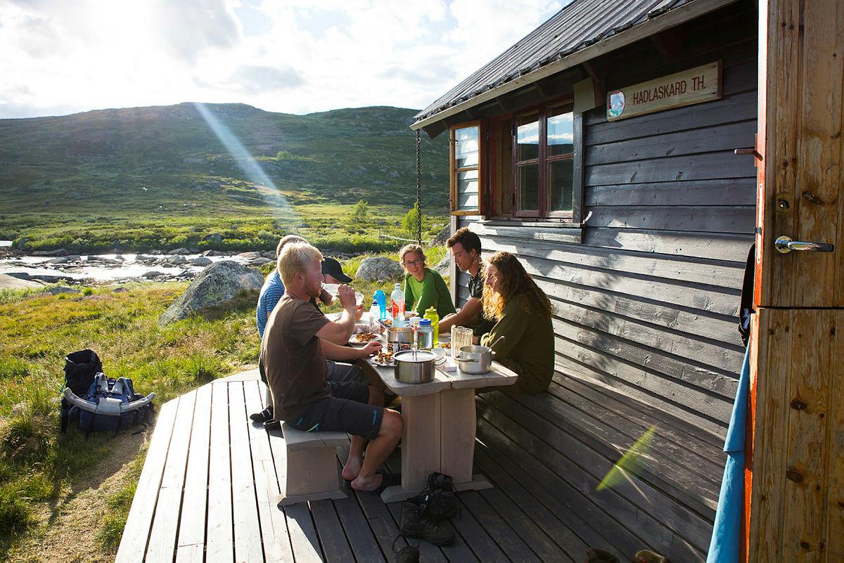 Hadlaskard på Hardangervidda.