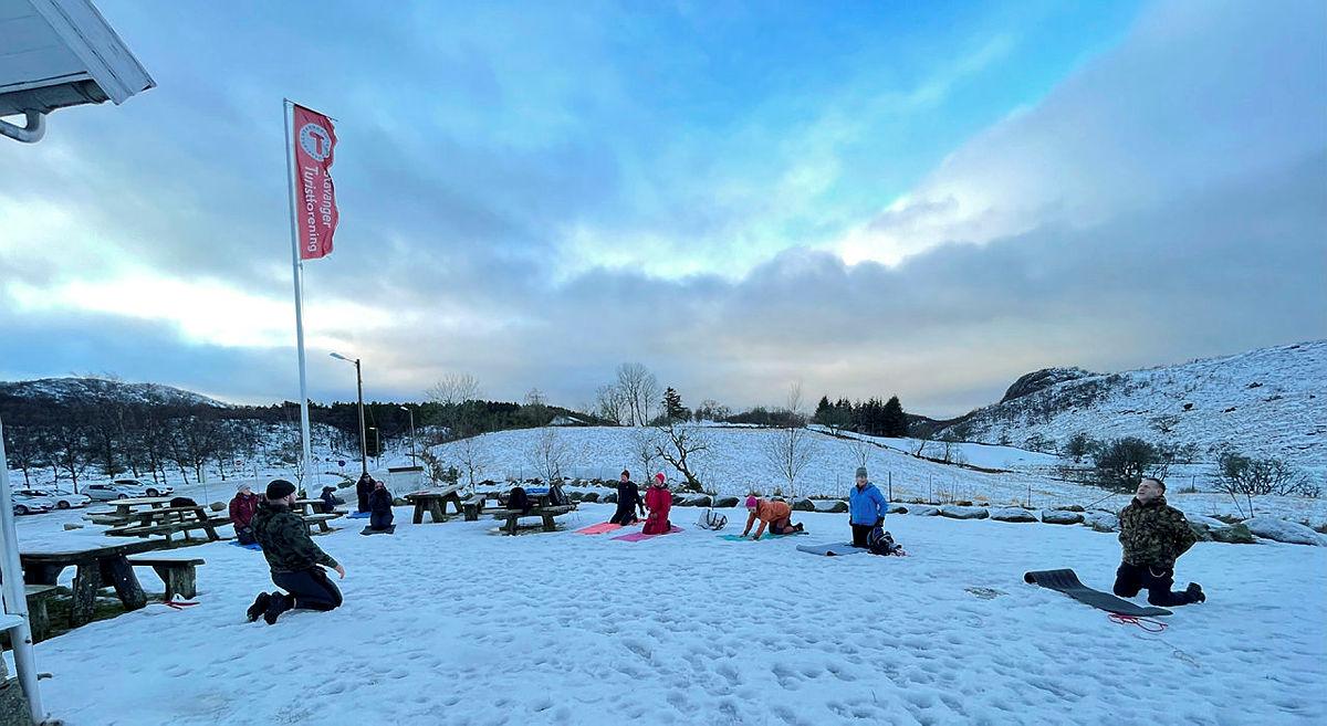 Det er flere ledige plasser på den nyoppstarta Friluftstrimmen på Gramstad.