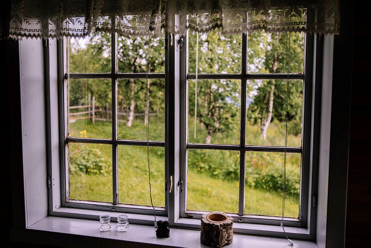 Snart kan du titte ut av vinduet på Knausen  i Femundsmarka - etter at du har bestilt.