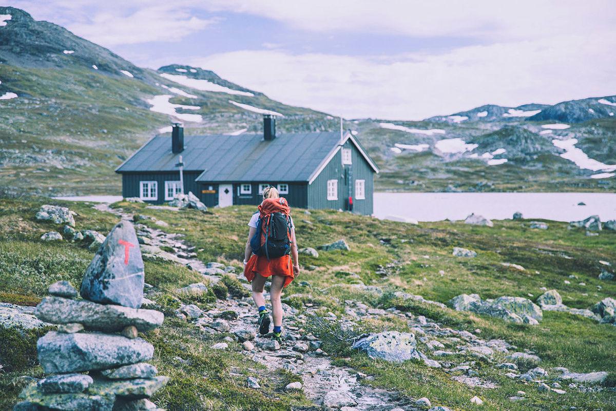 Hytte til hytte turer på Hardangervidda