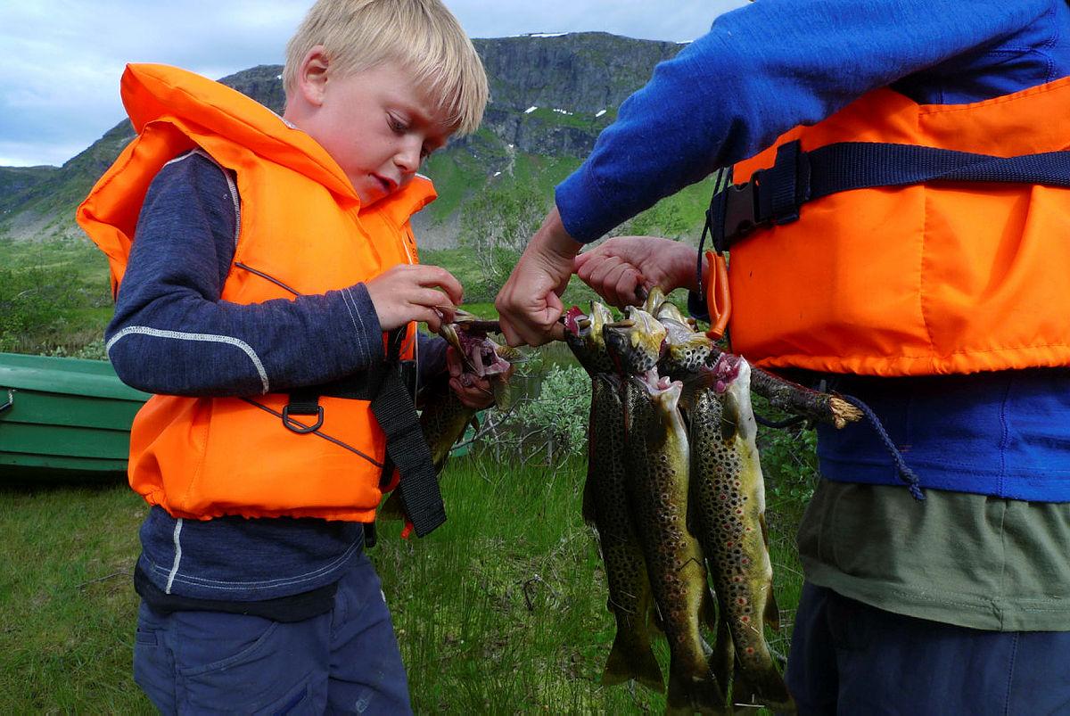Fisketur på Solrenningen.