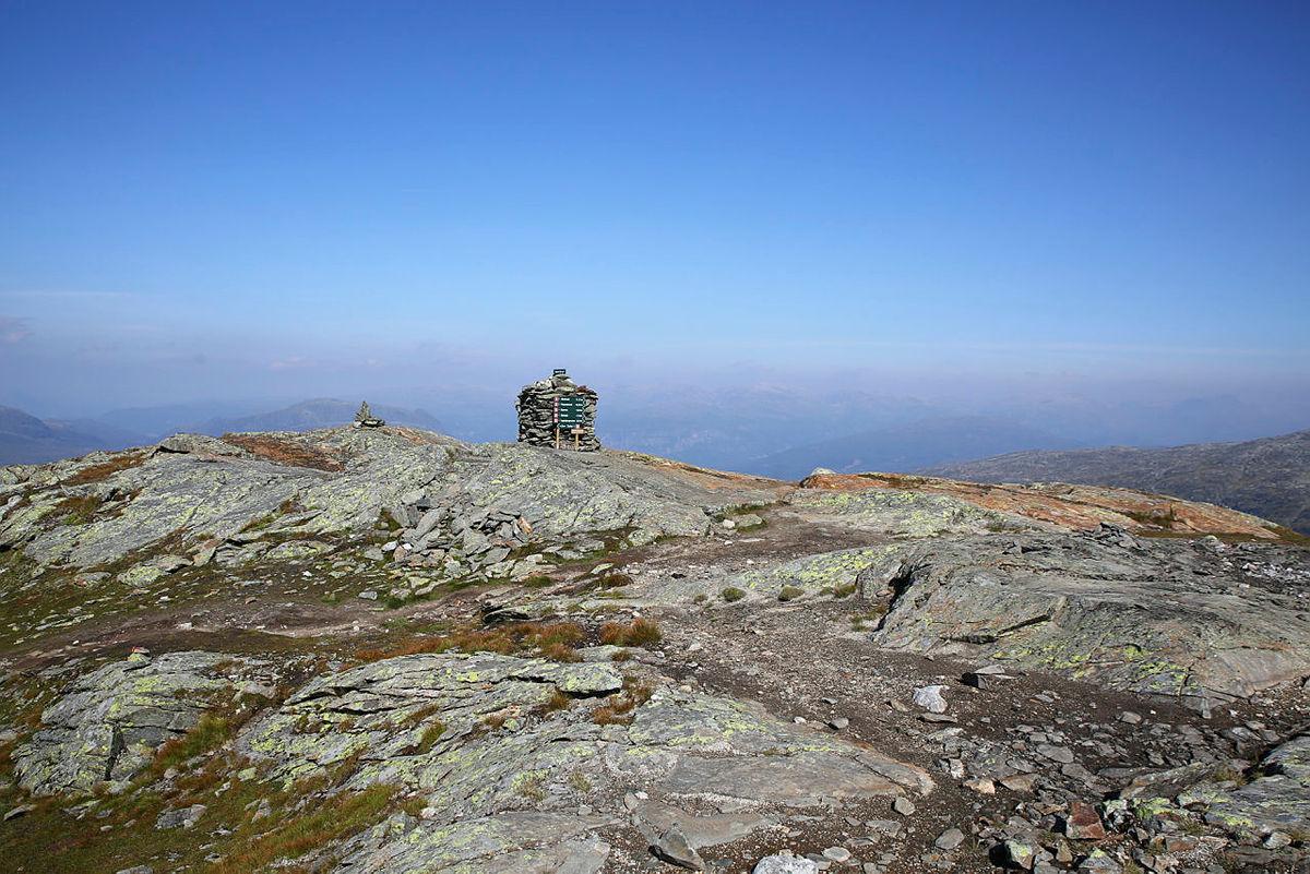 Tur til Oksen fra Tjoflot i Hardanger.