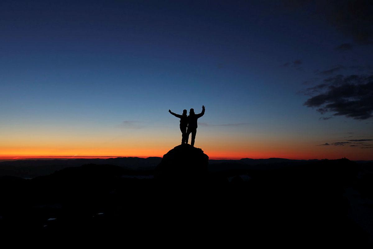 Byr Fonnabu på en av Hordalands vakreste solnedganger?