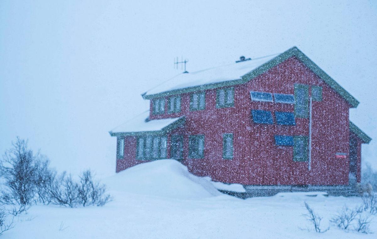Helgens snøfall gjorde underverker på Taumevatn mars 2021.