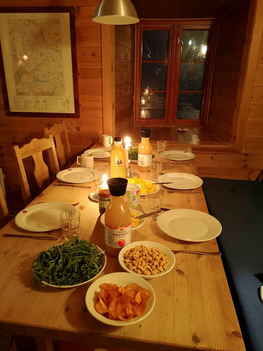 Aking, god mat og kos på Hallingskeid