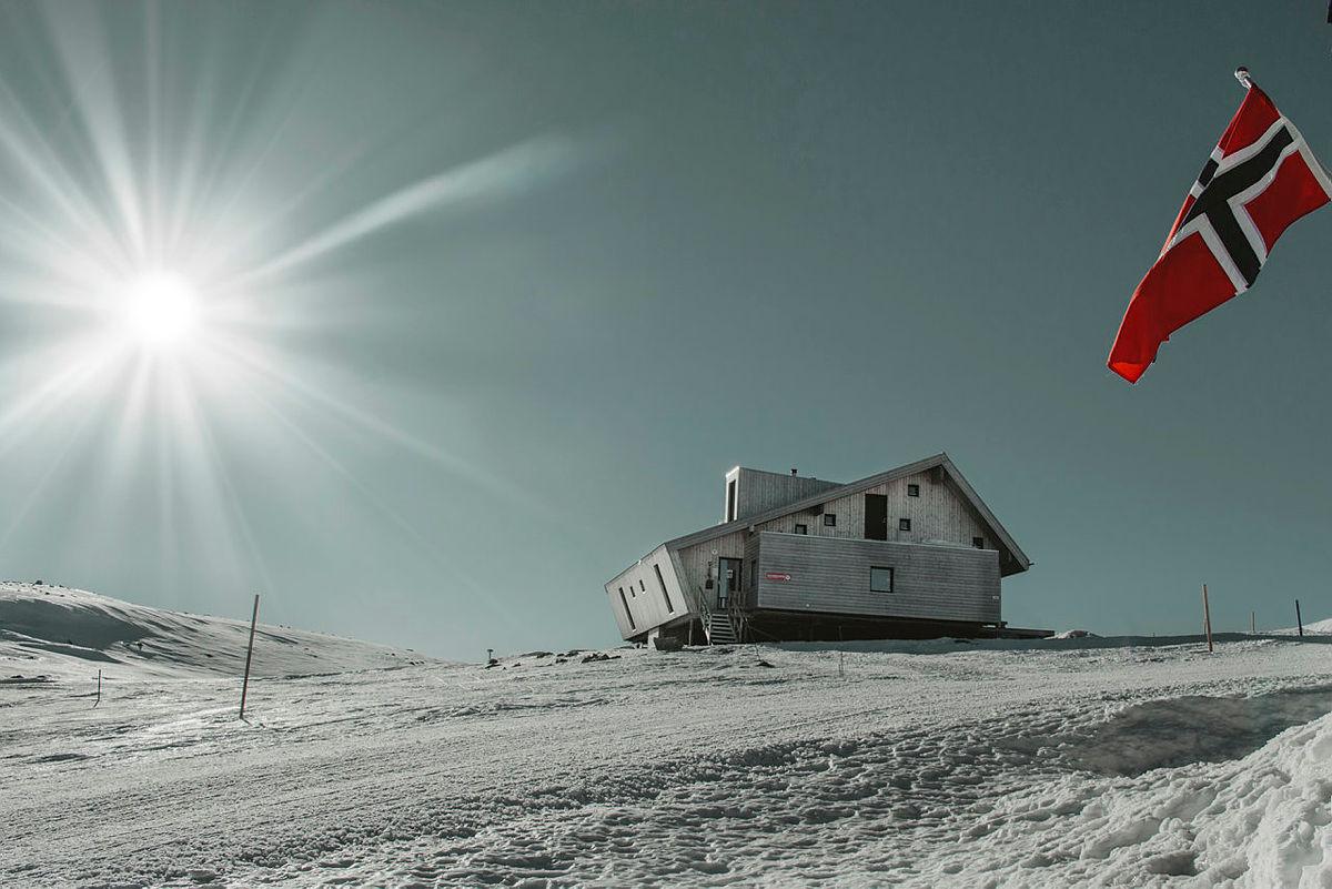 Nye Høgevarde på Norefjell tatt i 2019