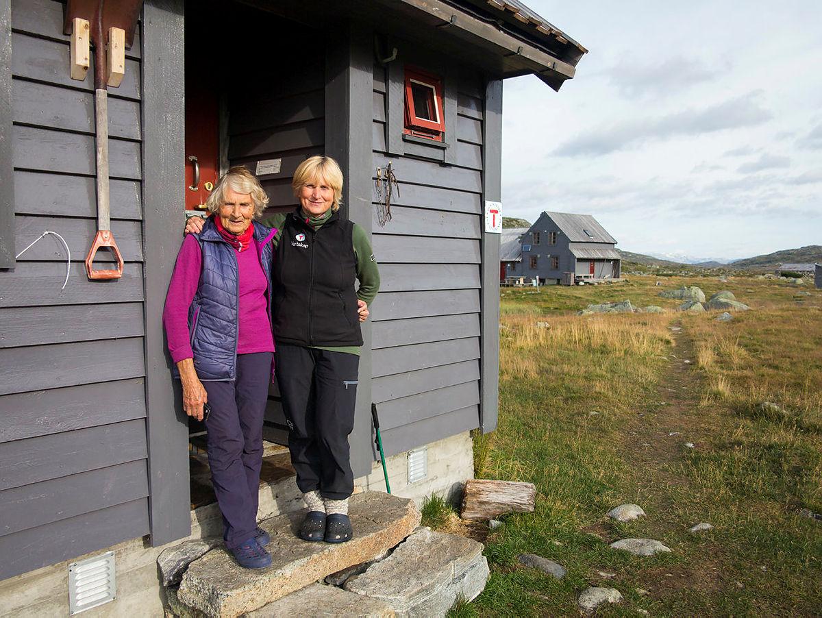 Hytteverter på Hadlaskard, august 2018.