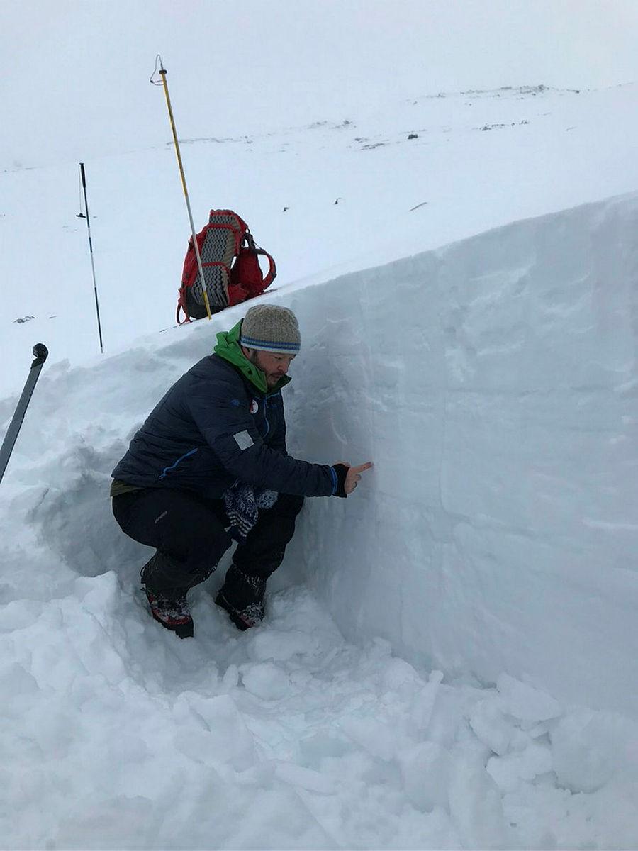 NF skredkurs, vinterturlederkurs ved Hallingskeid, 2021.