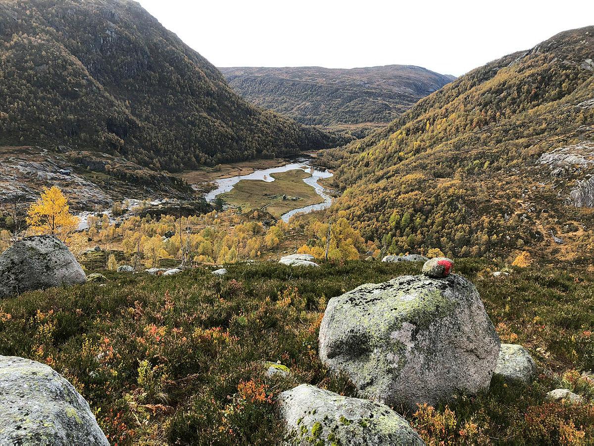 Høst tur til Kvitlen og Støle Rundtur