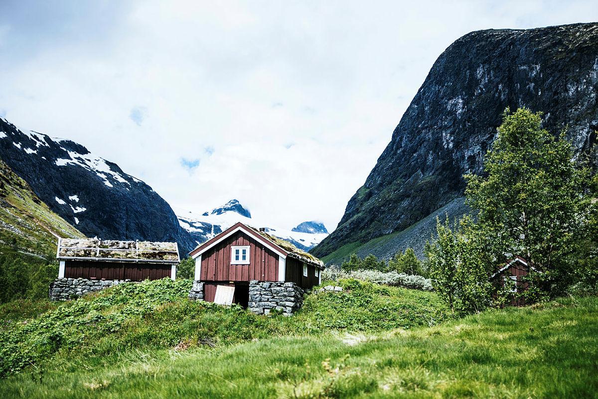 Idylliske Stølsmaradalen i Jotunheimen er populær. Det kan vi forstå!