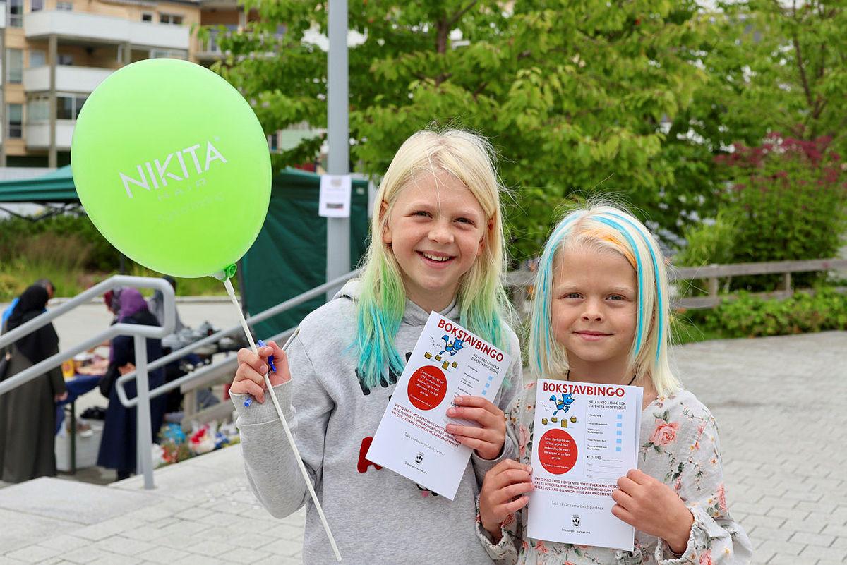 Bilder fra Sommer på torget i Hillevåg, august 2021.