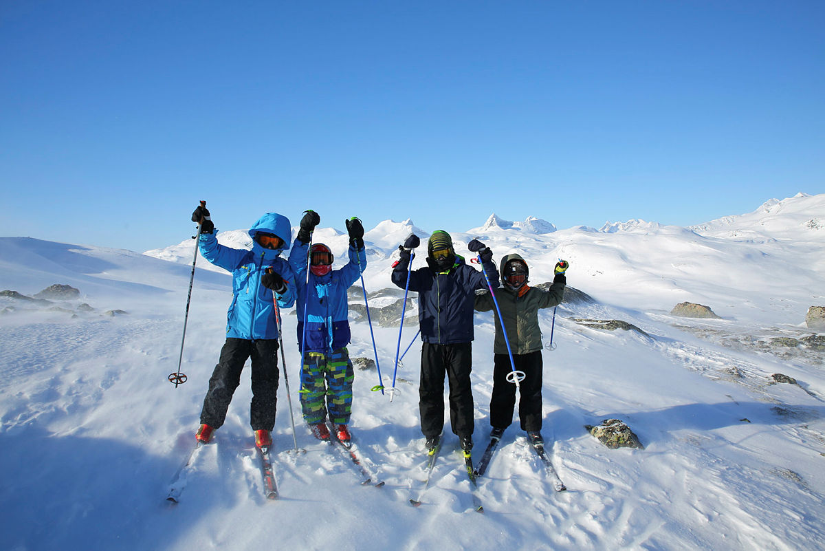 Bli med Barnas Turlag på tur i vinterferien!