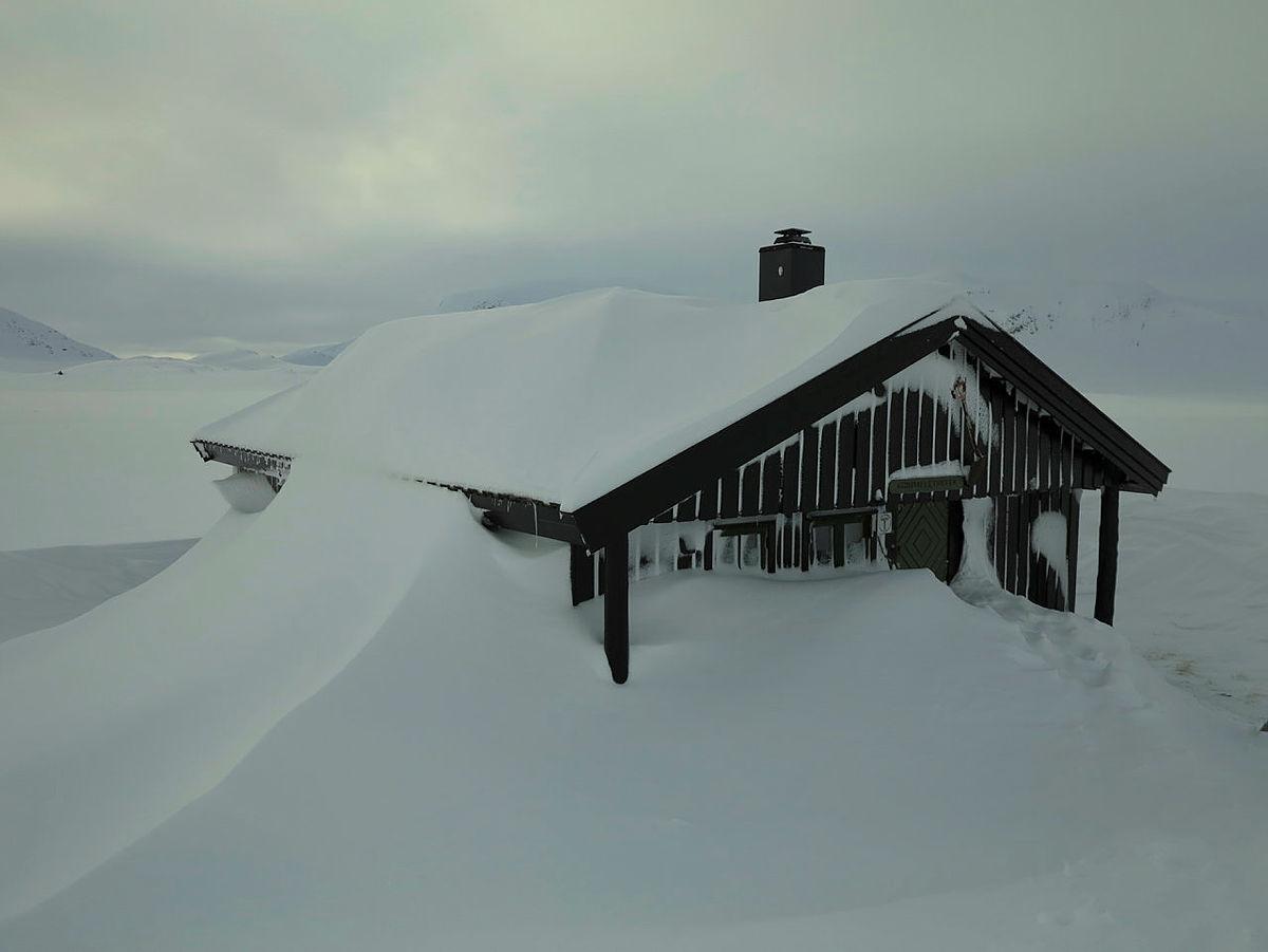 Vinter ved Grindaflet