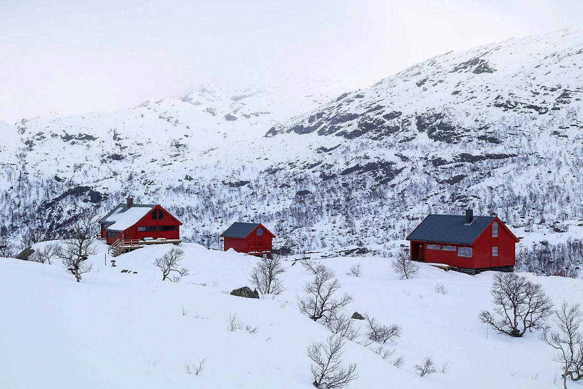 Blåfjellenden, mars 2021. Vinter.