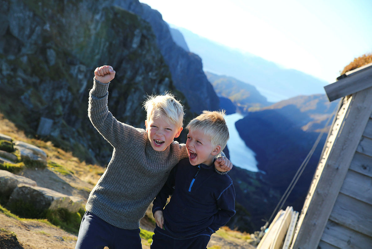 Tur til Kiellandbu i Bergsdalen, oktober 2016.