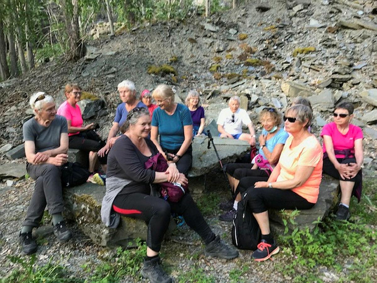 Rundtur på Kyte (Hedleberget), 2. juni 2021.