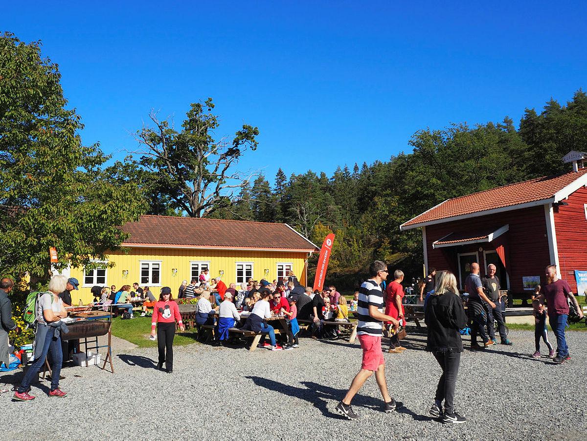 Høstferie: Gårdskafeen er åpen hver dag