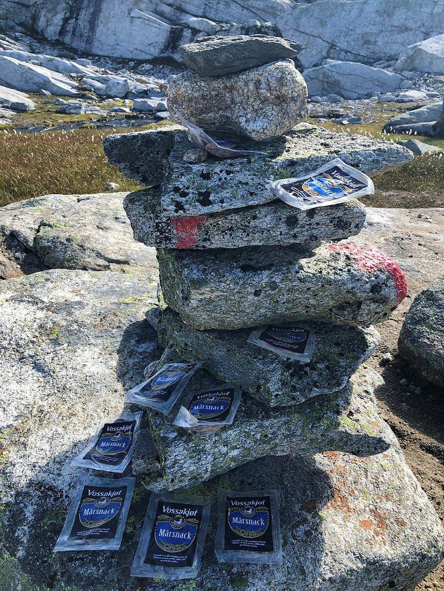 Timaglaset, Gråsida. Vossamarsjen 21. august 2021.