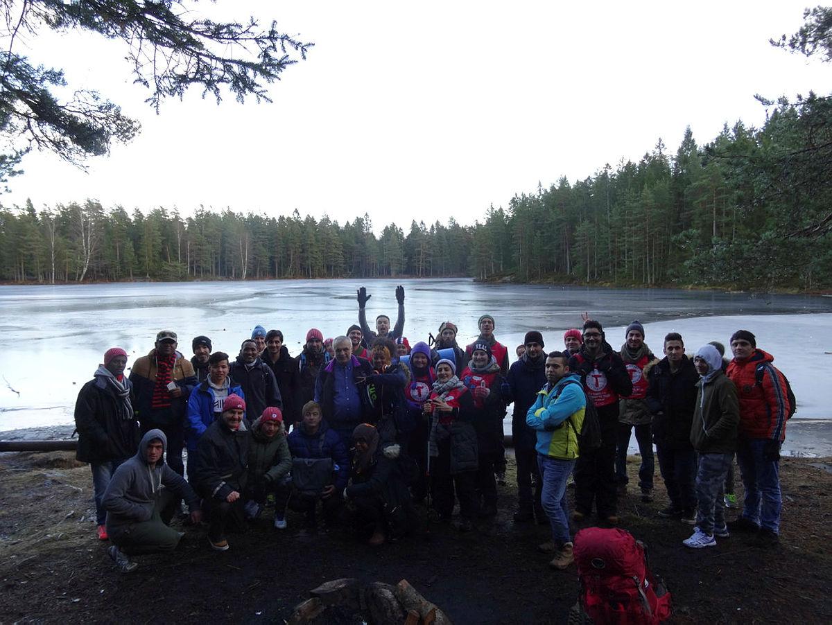 Natur på Norsk og Til Topps hadde avslutningstur den 10. desember til Piggen.