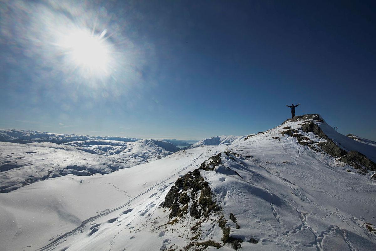 På ski til Hananipa