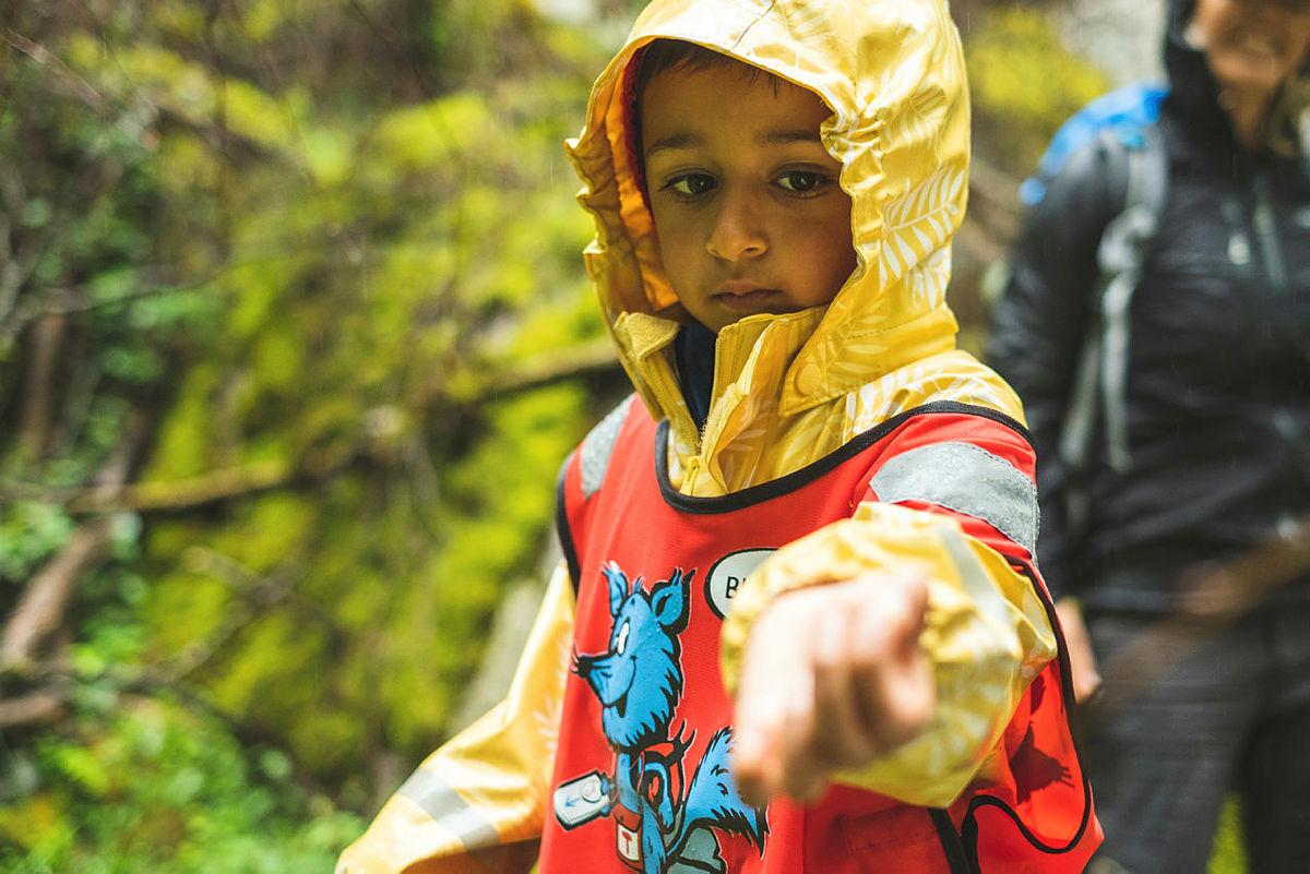 Tur med Barnas Turlag er moro for store og små.