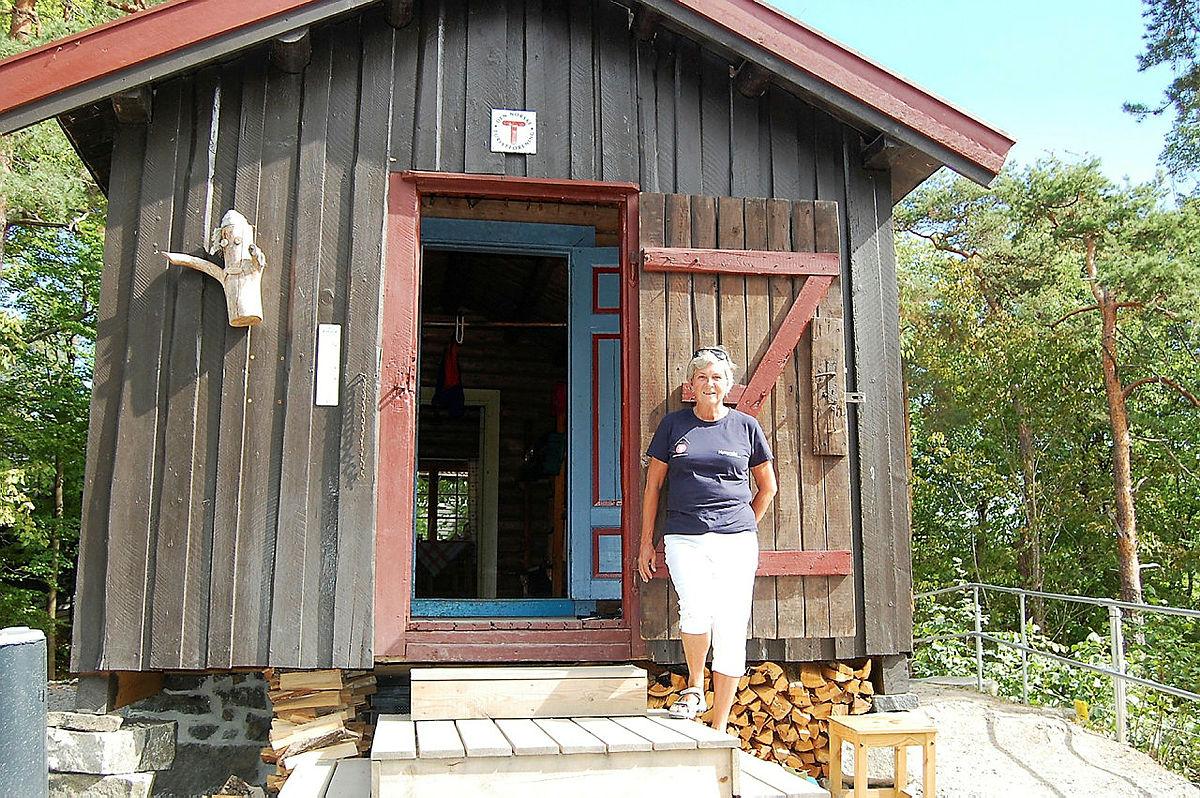 DNT hytta Hovinkoia på Norsk Folkemuseum